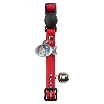 Hunter Smart Katzenhalsband Modern Art Luxus rot